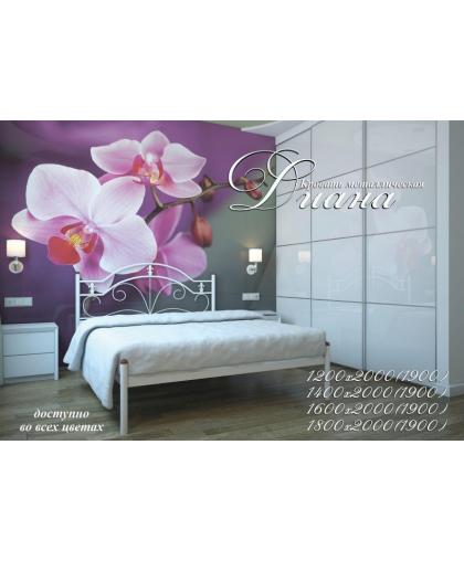 Купить ДИАНА кровать металлическая, Металл дизайн, 3 247грн.